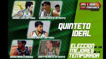 Los mejores jugadores del torneo provincial.