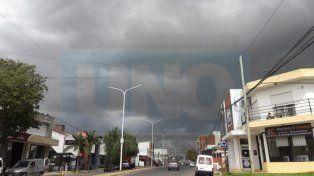 Alerta por tormentas fuertes en la provincia