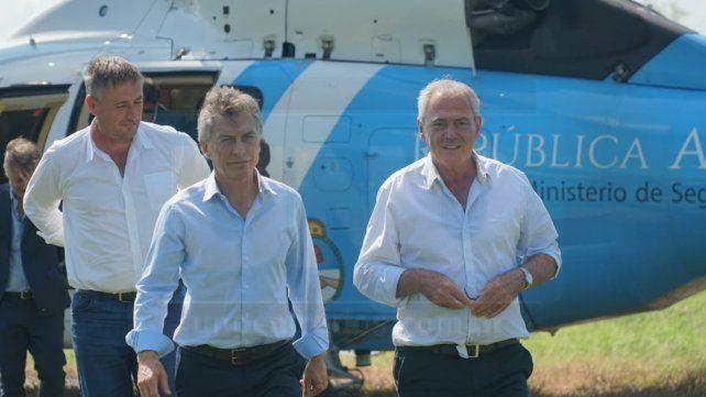 Macri llegó a Entre Ríos para apoyar a Atilio Benedetti