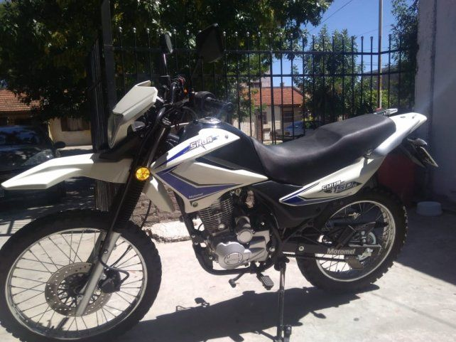 La moto tenía solo tres mil kilómetros.