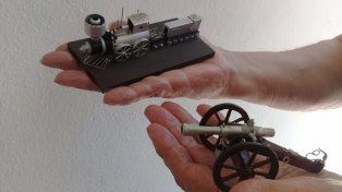 Jorge Méndez presenta su exposición Artesanías de miniaturas
