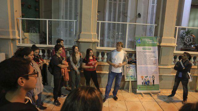 Representantes de las organizaciones también comentaron sus ideas.