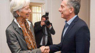 Salvavidas. La decisión del FMI busca contribuir a darle estabilidad cambiaria a Macri hasta las elecciones.