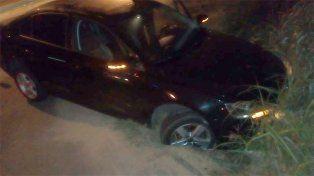 Paraná: Conductor salía de un boliche y cayó a una zanja