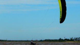 Kite Foil: lograron completar seis regatas en todas las categorías
