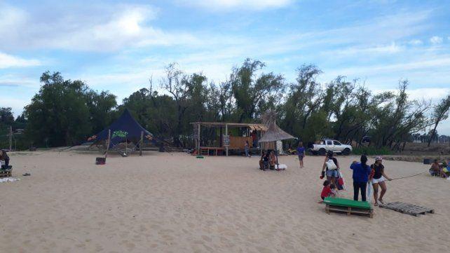 La nueva playa del náutico.