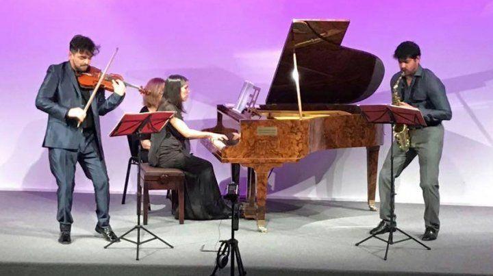 Original. El trío se reunió en 2014 con el fin de desarrollar un repertorio de cámara original para la formación.