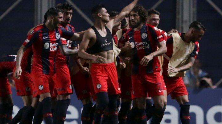 San Lorenzo a un paso de los octavos de final de la Copa Libertadores