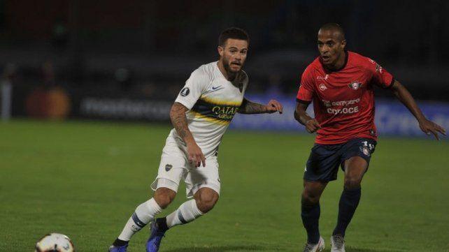 Boca Juniors goleó a Wilstermann por la Copa Libertadores