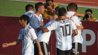 La Selección Sub 17 goleó a Paraguay y se metió en el Mundial