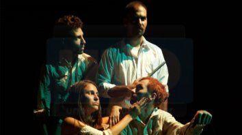 el grupo mojarra invisible presenta el difuntito, de leonel giacometto