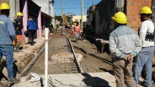 Se reactivó el Promeba y se amplían las obras en los barrios Humito