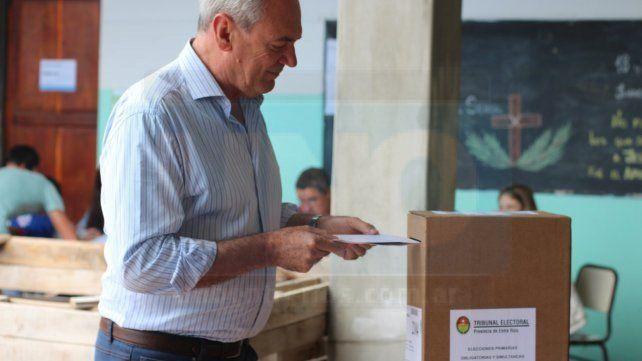 Atilio Benedetti instó a votar porque se juega el futuro de todos