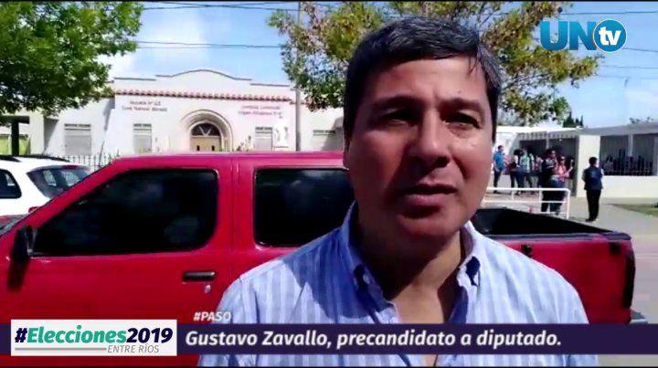 Desde Viale, Zavallo dijo que espera que se ratifique un rumbo de provincia