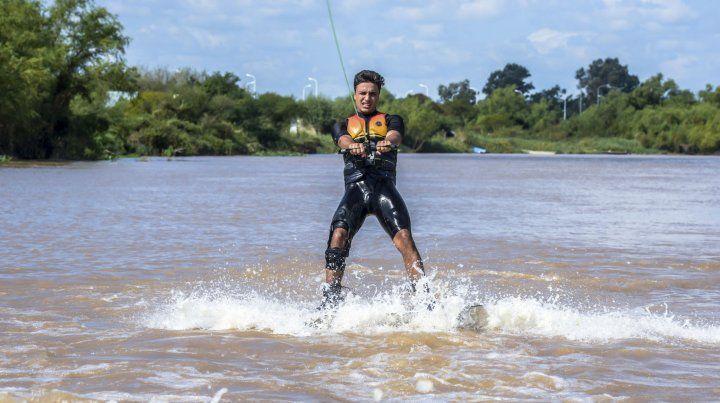 Agustín Fontana volvió a la competencia de alto rendimiento