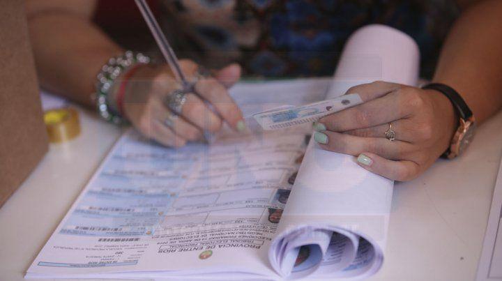 En Entre Ríos votó casi el 80 % de los electores