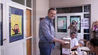 Bahl fue ayer el más votado y Varisco ganó la interna ante una sorpresiva elección de Gainza
