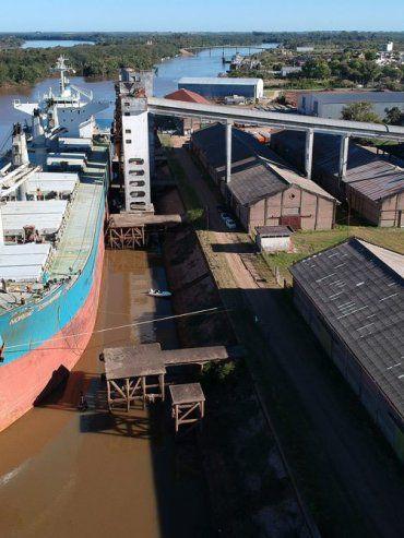 El Nordic Stavanger cargó arroz a granel para Costa Rica.