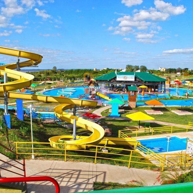 FEDERACIÓN. Con su parque acuático y termal esperan un aluvión de turistas desde hoy.