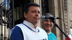 Marcelo Pagani, secretario general de Agmer, confirmó la medida.
