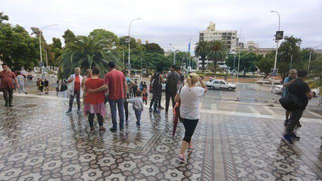 Se cumple el tradicional recorrido por las Siete Iglesias