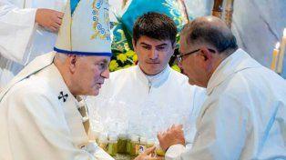 Puiggari recordó las causas por abuso contra la Iglesia durante la misa crismal