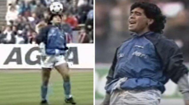 Maradona festeja los 30 años de la entrada en calor más hermosa de su vida