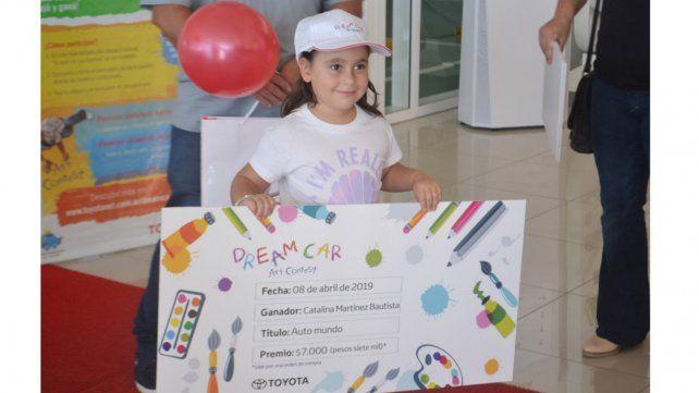 La 7ta edición del Toyota Dream Car Art Contest: Argentina tiene una ganadora entrerriana