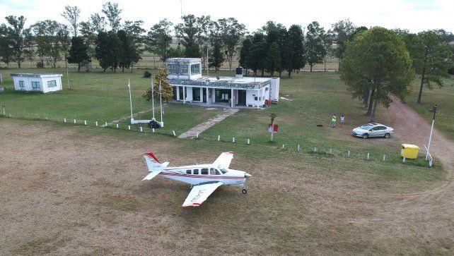 La obra es vital para poder disponer de un avión sanitario.
