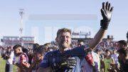 Pude terminar la carrera con más de 40 años sintiéndome bien, señaló la leyenda del arco de Patronato en su paso por UNO.