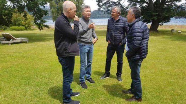 Macri recibe a los gobernadores de Cambiemos para analizar el rumbo de la economía