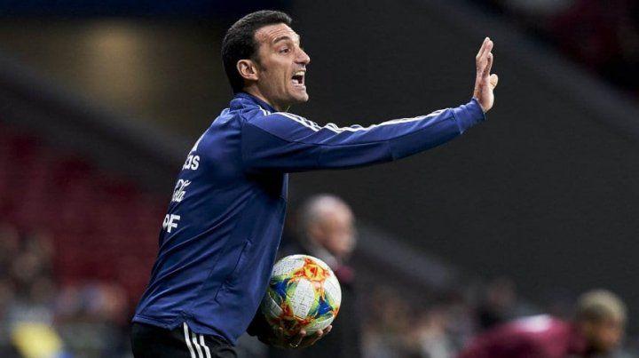 Scaloni en la Selección hasta Qatar 2022