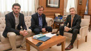 Frigerio se reunió con Varisco y Gainza