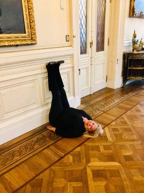La llamativa foto de Elisa Carrió tras las críticas por sus dichos sobre De la Sota