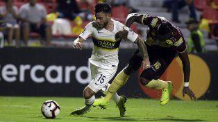 Boca Juniors sacó un buen empate en Colombia