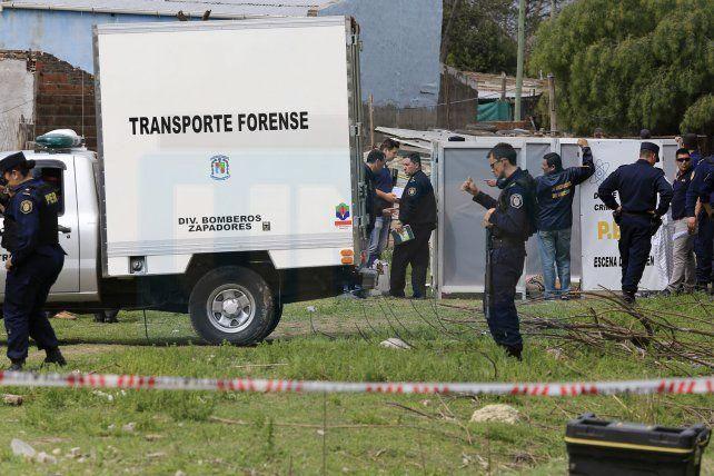 IMPARCIALIDAD. La Policía provincial actuó en la escena del crimen
