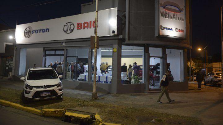 Las marcas chinas de automóviles Baic y Foton se pueden ver en Paraná