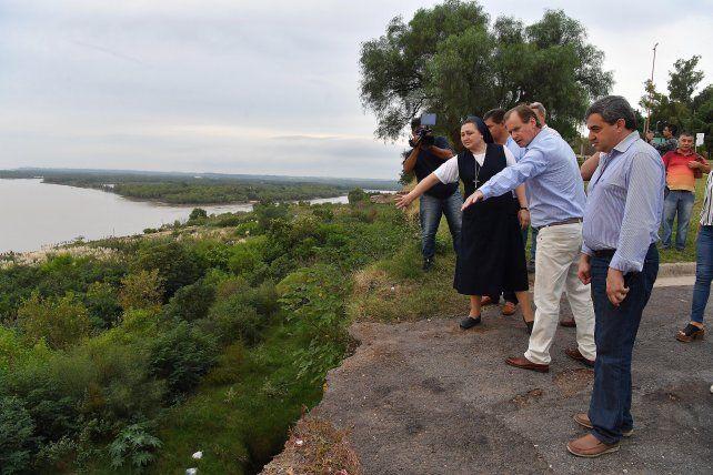 Inician el proyecto de estabilización de barrancas de Santa Elena y Diamante