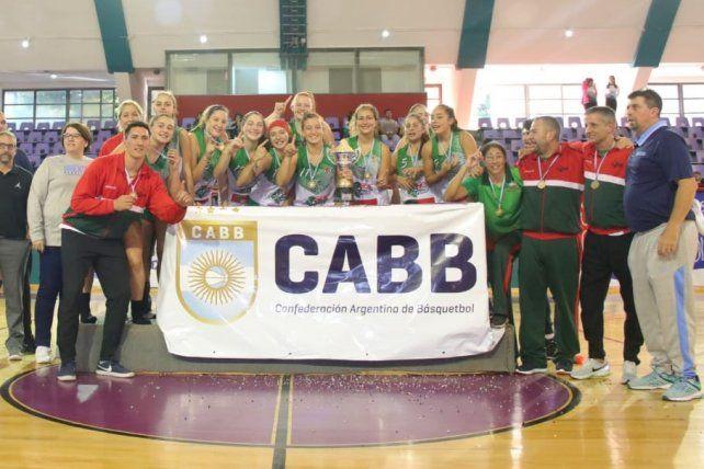 Entre Ríos campeón argentino femenino U15