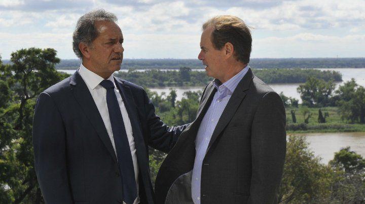 Bordet y Scioli analizaron la situación del país y la construcción de una alternativa