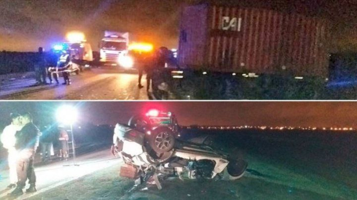 Tragedia en Santa Fe: Un acoplado se desprendió y mató a una familia completa