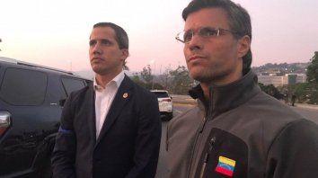 guaido llamo a un levantamiento militar contra maduro en venezuela