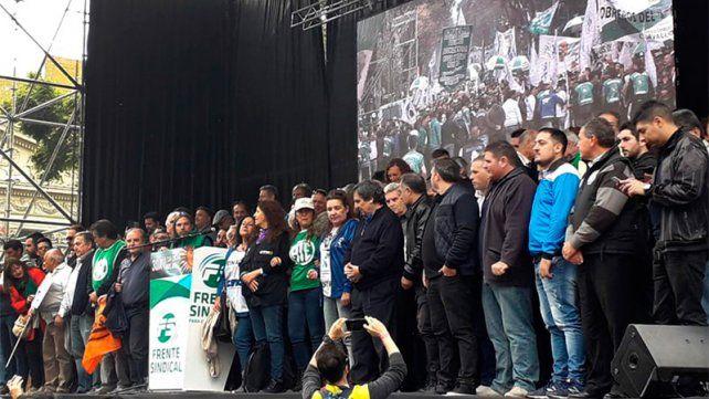 Gremios cargaron contra el Gobierno y llamaron a la unidad de la oposición