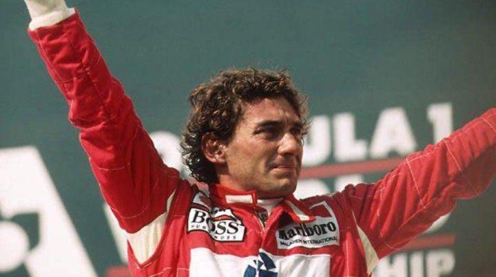 Ayrton Senna da Silva nació el 21 de marzo de 1960.