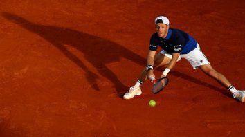 Schwartzman, ubicado en el puesto 24 del ranking mundial de la ATP, perdió con Garín (47) luego de una hora y 22 minutos de juego.