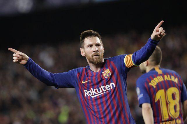 Doblete de Messi en la victoria del Barcelona