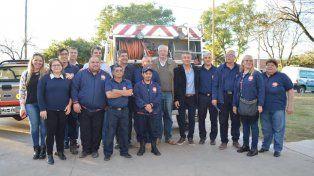 Bomberos Voluntarios van hacia la autogeneración de electricidad