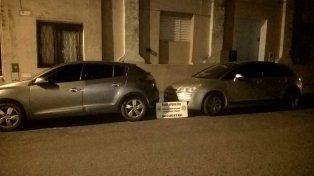 Pruebas. La División Robos y Hurtos secuestró vehículos durante los allanamientos de fines de marzo.