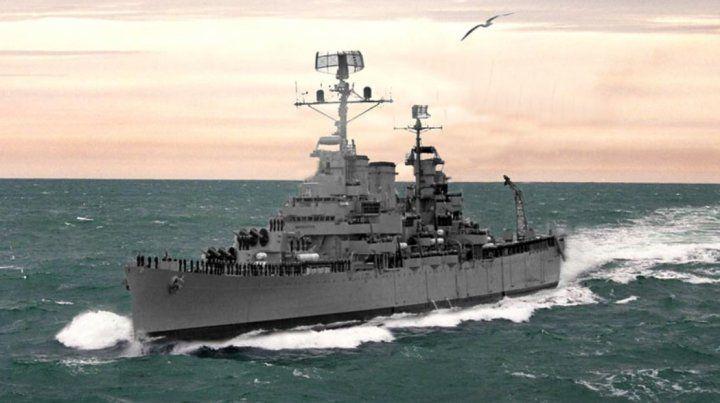 Se cumplen 37 años del hundimiento del ARA General Belgrano en la Guerra de Malvinas