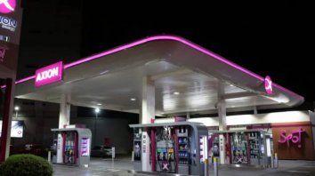 axion recorto el aumento inicial y bajo sus combustibles un 2%